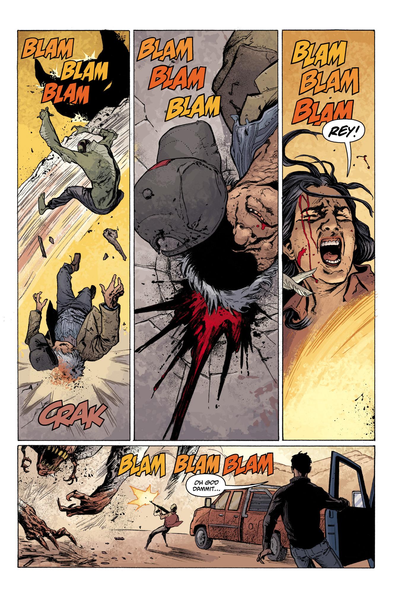 Read online Abe Sapien comic -  Issue #7 - 17