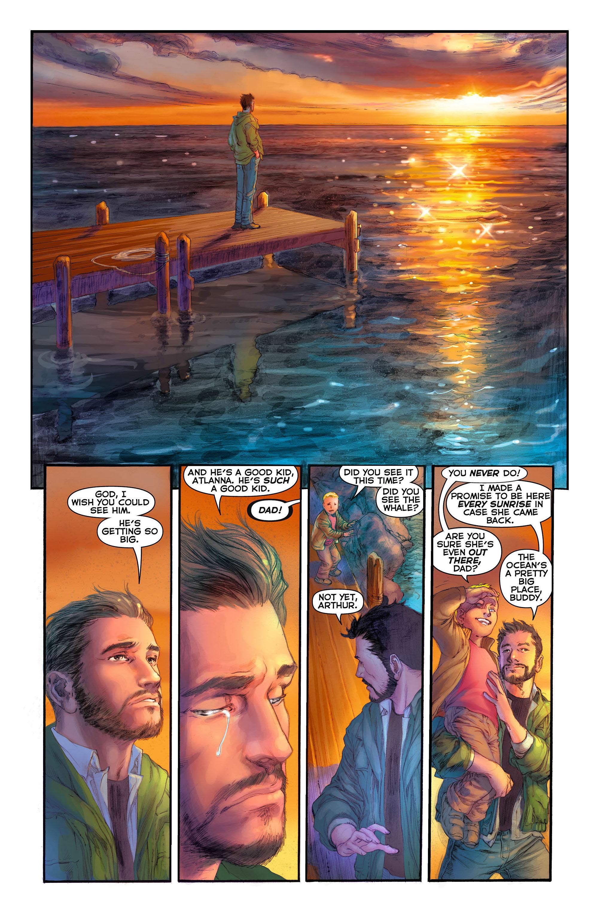 Read online Aquaman (2011) comic -  Issue #3 - 2