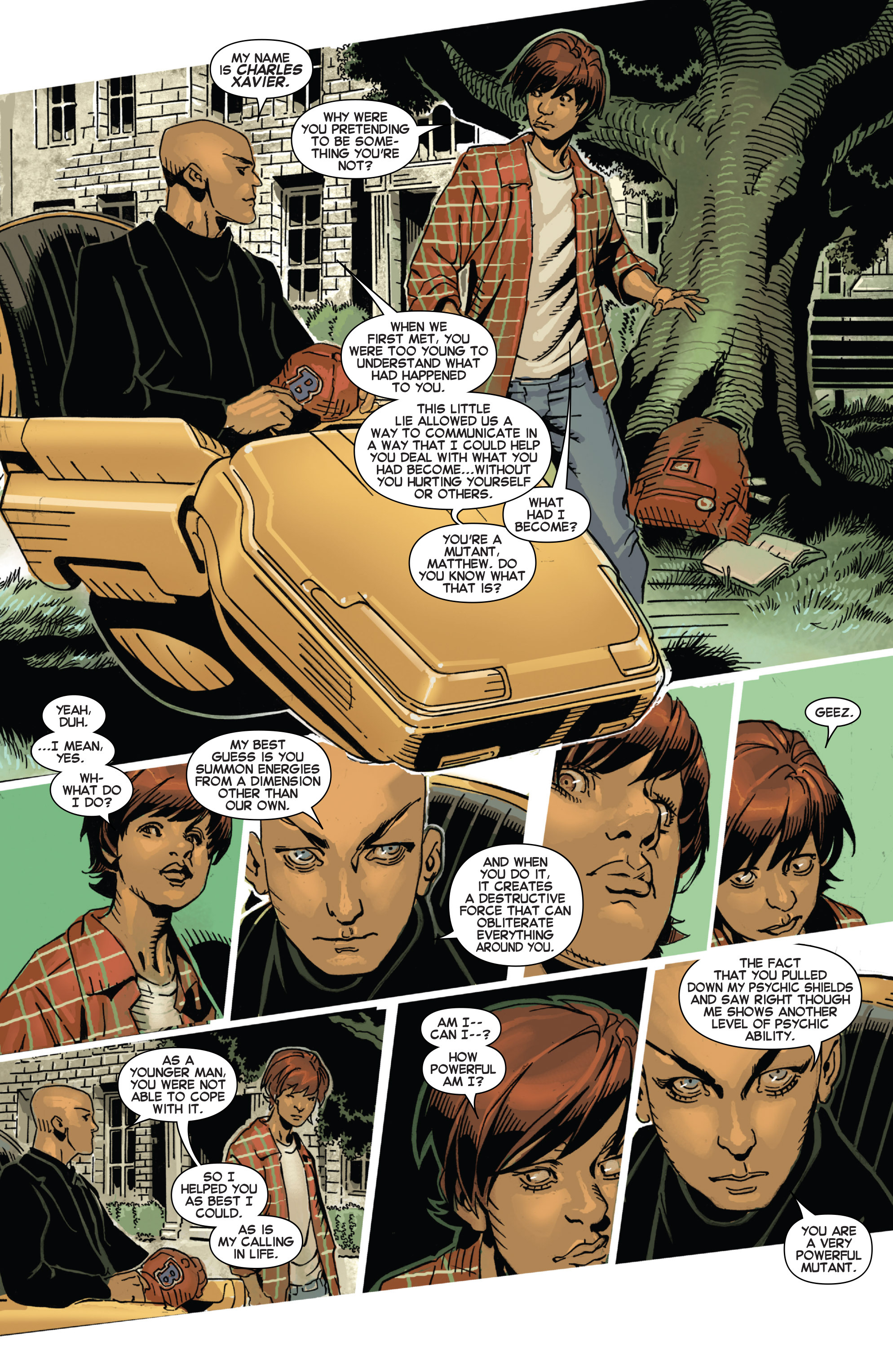 Read online Uncanny X-Men (2013) comic -  Issue # _TPB 4 - vs. S.H.I.E.L.D - 138