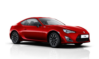 Toyota GT86 side view image