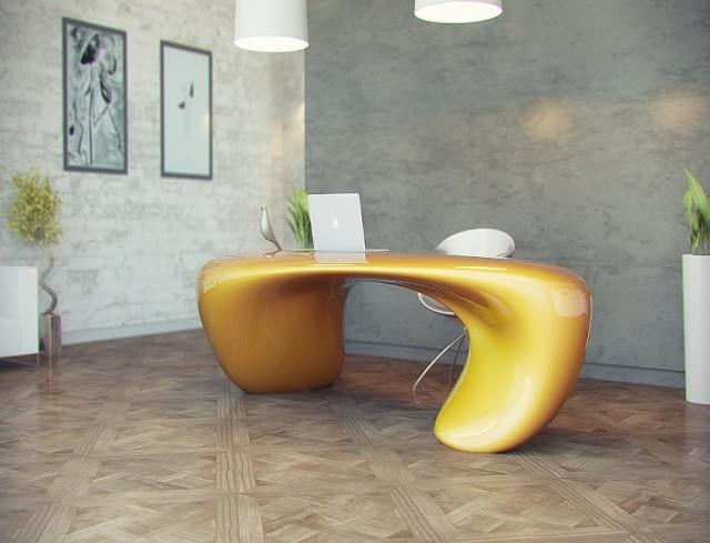 contemporary unique home office desk ideas pictures