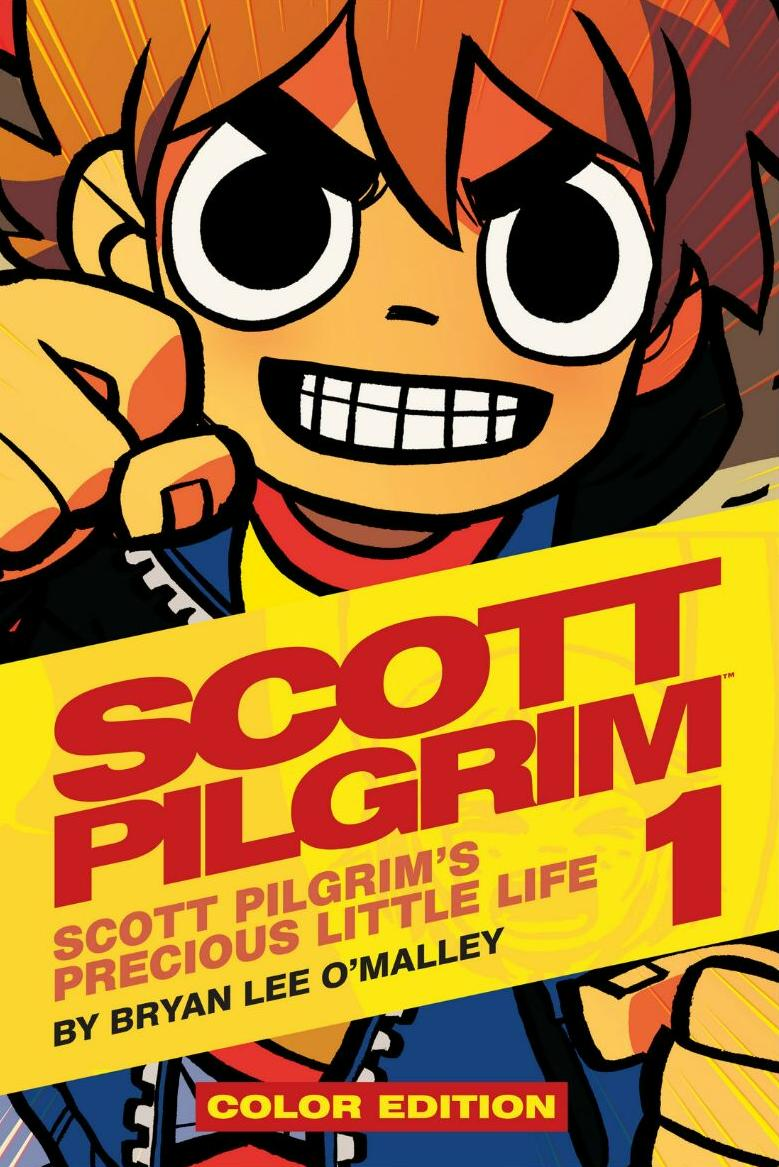 Scott pilgrim vs. The world phonograph record scott pilgrim's.