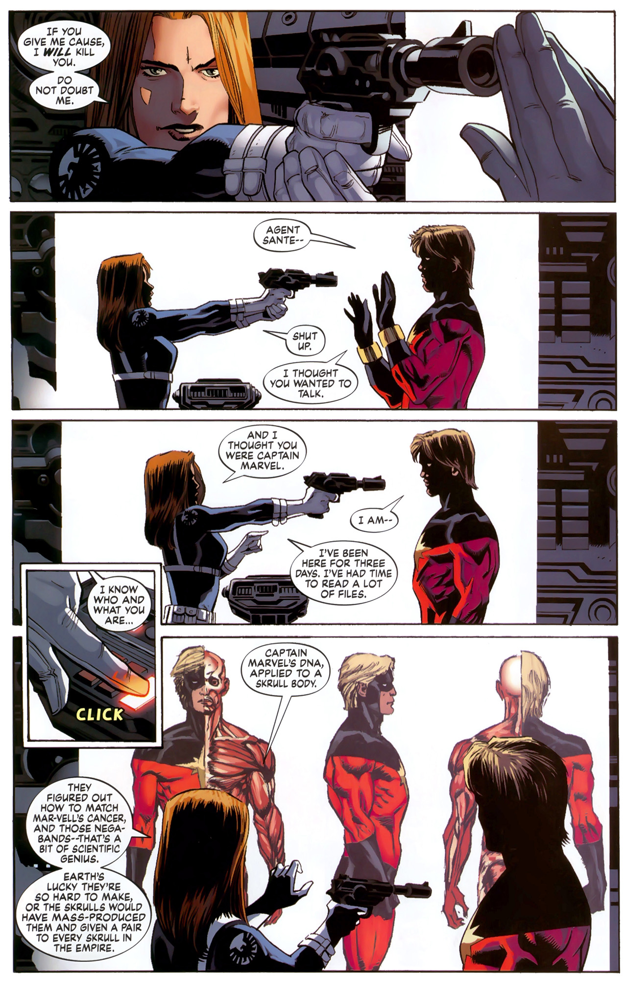 Read online Secret Invasion: The Infiltration comic -  Issue #6 - 12