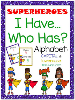 https://www.teacherspayteachers.com/Product/I-Have-Who-Has-Alphabet-Superheroes-2543344