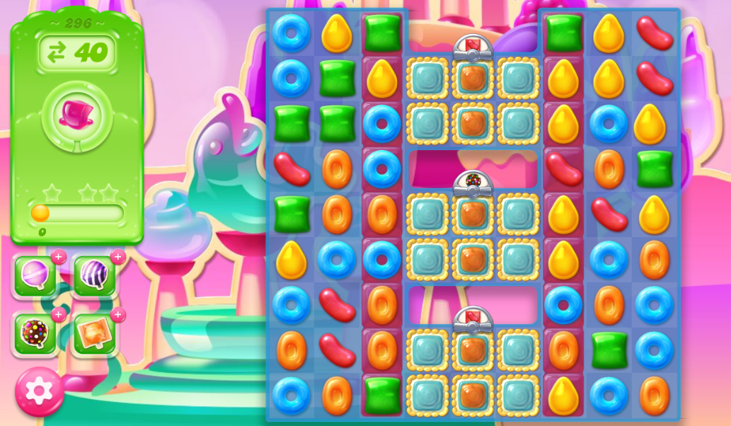 Candy Crush Jelly Saga 296