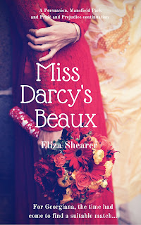 Book cover: Miss Darcy's Beaux by Eliza Shearer