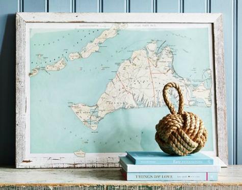 Nautical Vintage Charts
