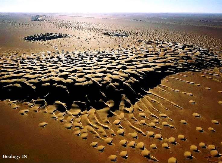 Fabulous Sand Dunes in Hadhramaut ,Yemen