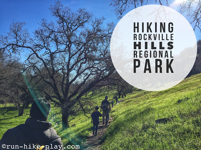 Hiking Rockville Hills Regional Park