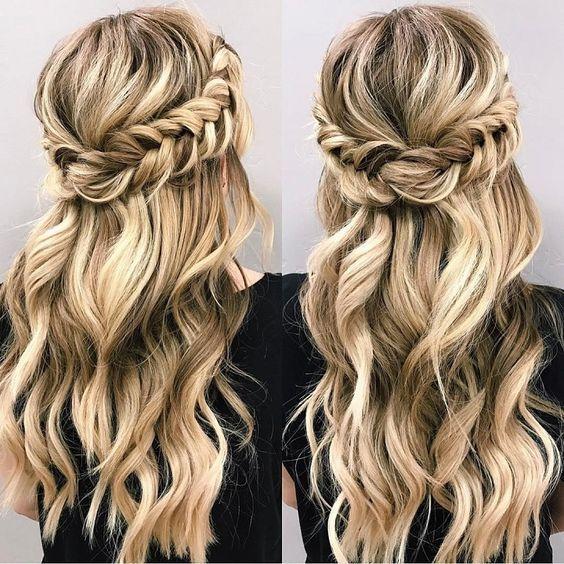 Homecoming (Hoco) Hairstyles for Short, Medium and Long Hair | Haircuts