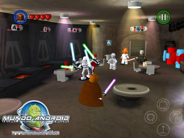 Jugabilidad de Lego Star Wars The Complete Saga