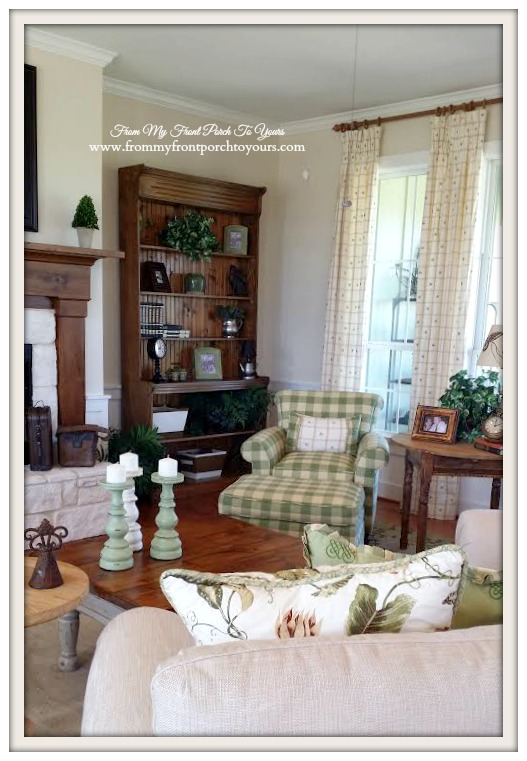 Farmhouse Model Home Living Room-Trendmaker Homes- From My Front Porch To Yours