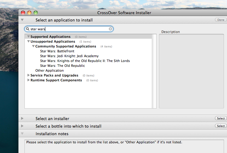 mac os dvd installer swtor