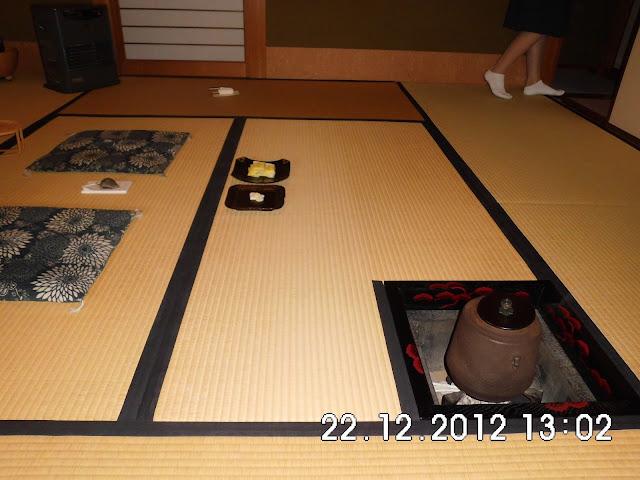 Tatami dan ruangan Sadou