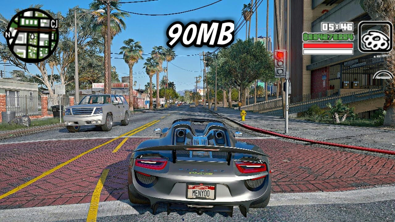 90MB] GTA 5 4K GRAPHICS ULTRA ENB MODPACK FOR ANDROID