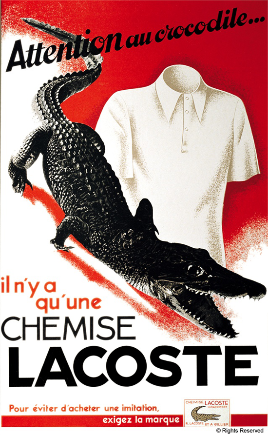 Lacoste Advertising 1933