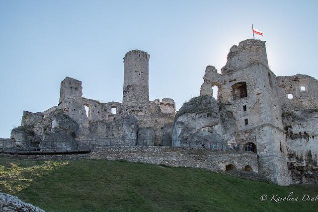 Zamek w Ogrodzieńcu.