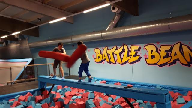 sportlicher Kindergeburtstag feiern München Airhop