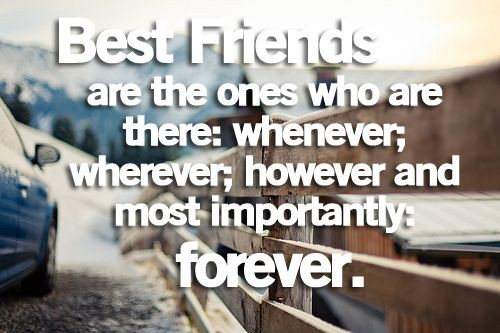 Best Friends Forever Quotes 2018