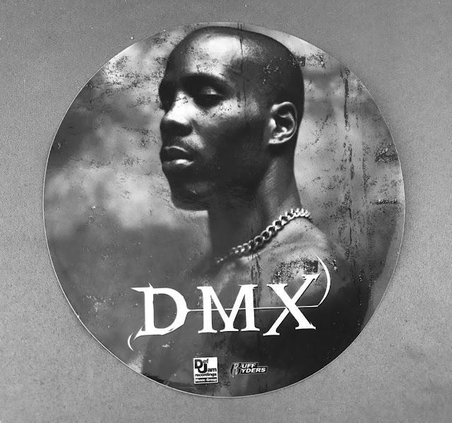 DMX It's Dark and Hell is Hot OG Sticker 1998