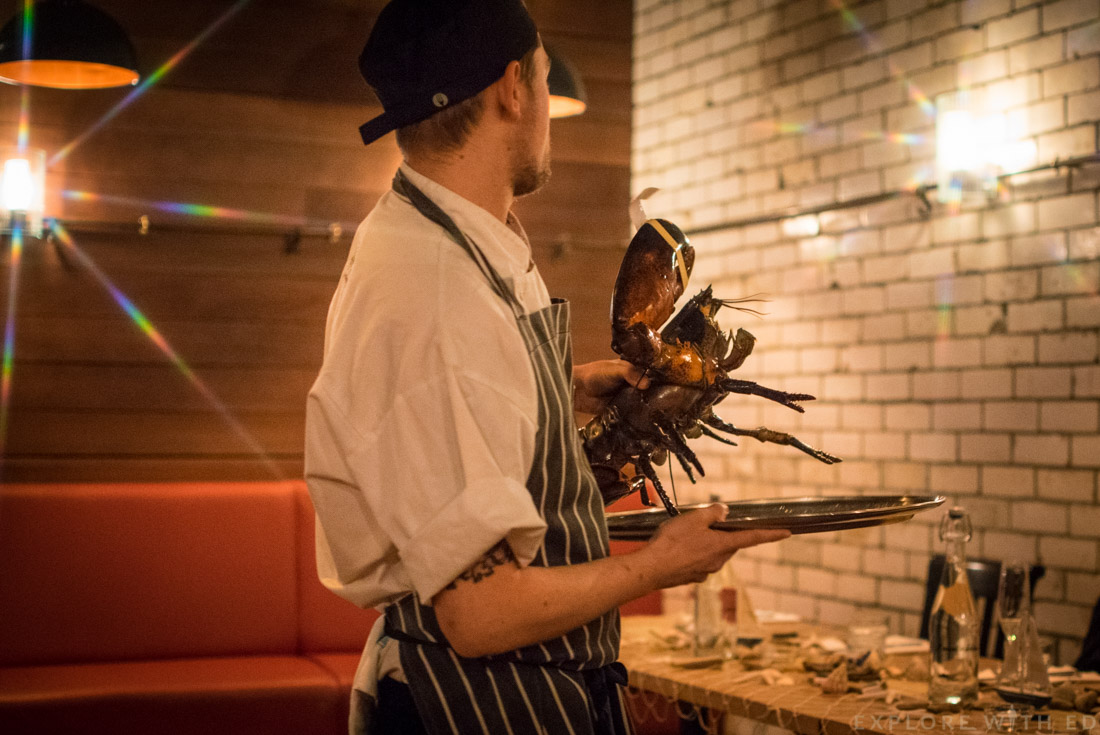Live Lobster, Burger and Lobster, Cardiff Lobster