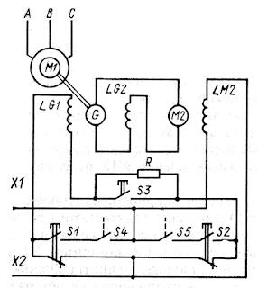 Принципиальная схема рулевого привода по системе Г—Д