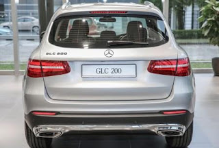 Đuôi xe Mercedes GLC 200