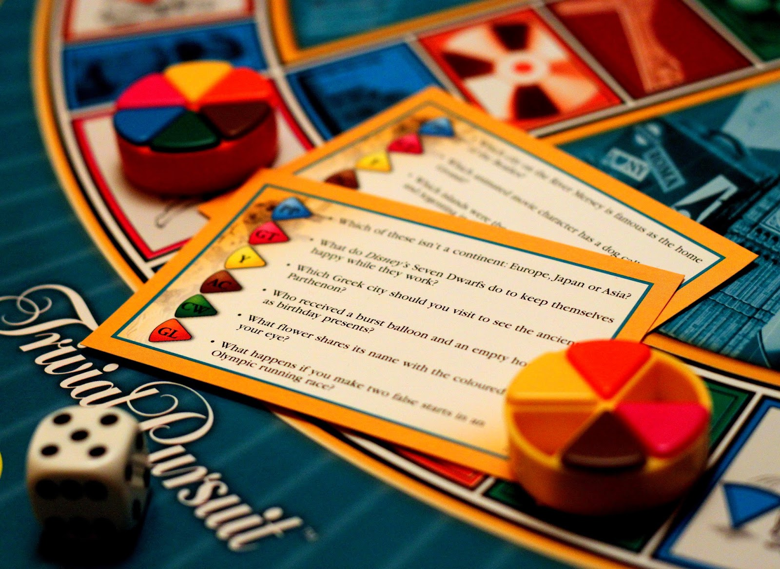 The invention of Trivial Pursuit