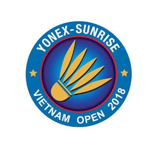 Jadwal Vietnam Open 2018