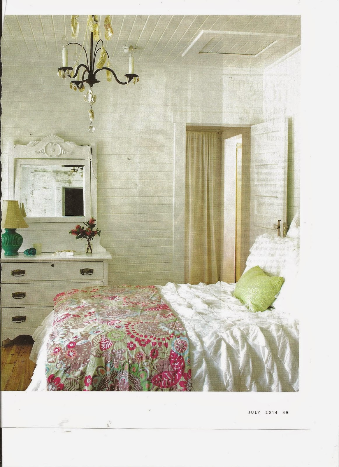 Jane Coslick Cottages My Favorite Bedroom And More: The Magazine Story