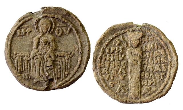 Seal of Byzantine Empress Irene found in Bulgaria's Lyutitsa Fortress