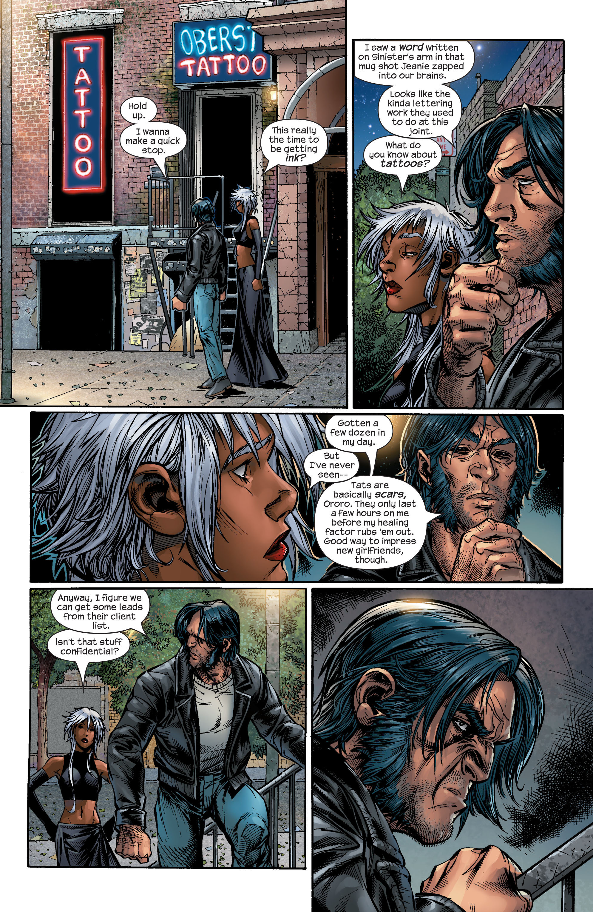 Read online Ultimate X-Men comic -  Issue #48 - 18