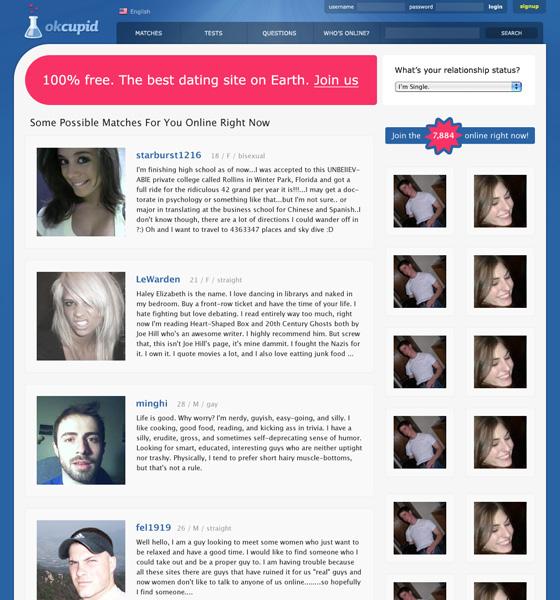 Best free dating sites like okcupid