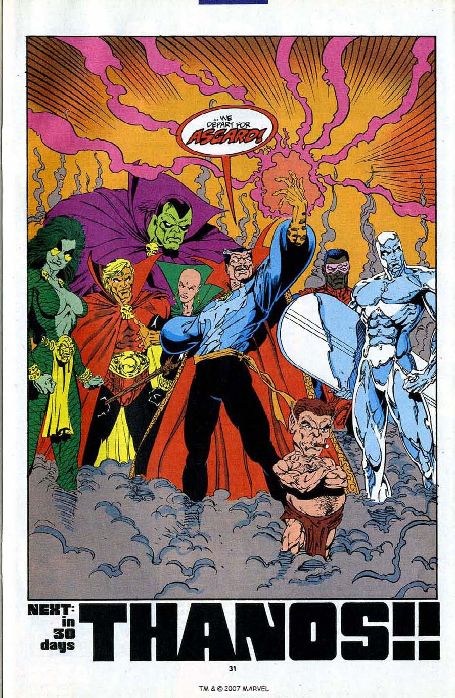 Read online Silver Surfer (1987) comic -  Issue #87 - 33