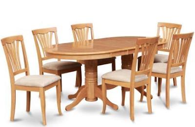 Model meja makan kayu jati terbaru