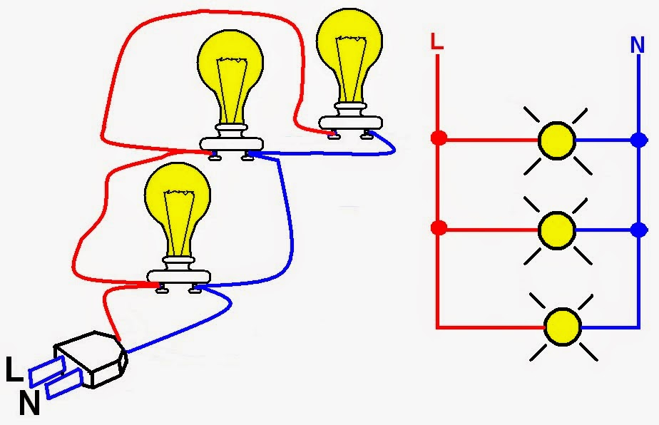 Circuito Electrico En Paralelo : Coparoman circuito paralelo