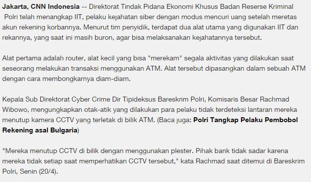 Contoh Analisa Kasus Cybercrime Blog Didik Sudyana