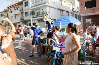 Carrera de Tartanas en la Feria
