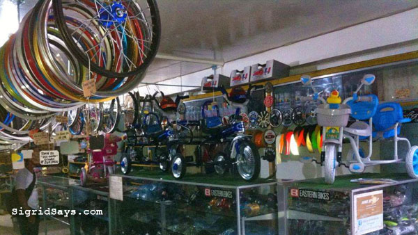 Bacolod bike shop - Libertad Cycle Center - Bikestop Cycle - new bike and repairs