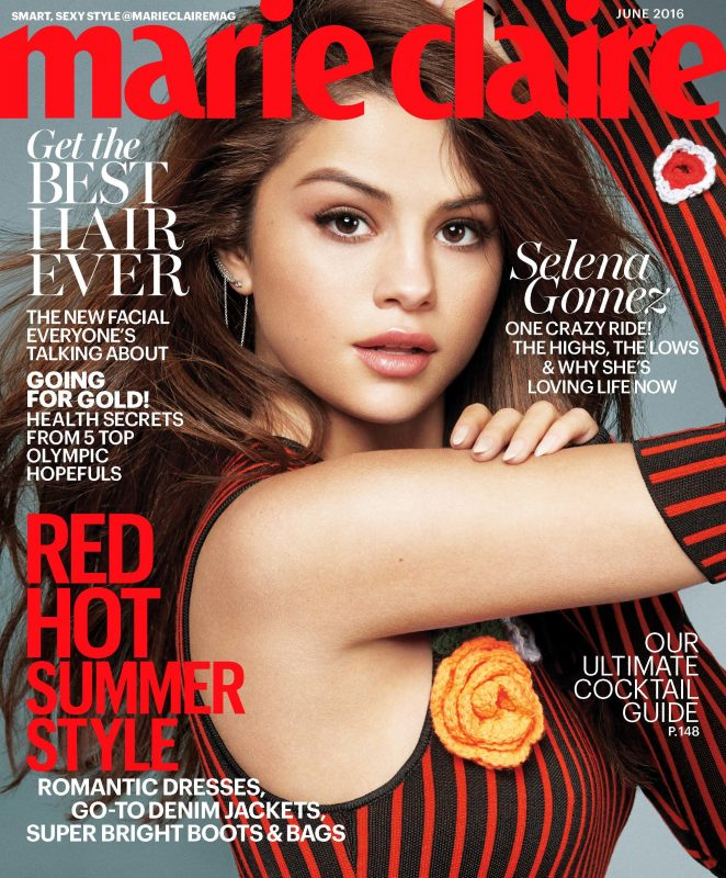 Selena Gomez stars for Marie Claire June 2016