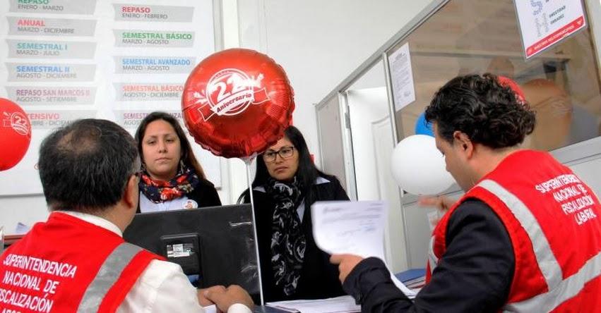 Inspectores SUNAFIL detectan a trabajadores de academias e institutos que laboran informalmente