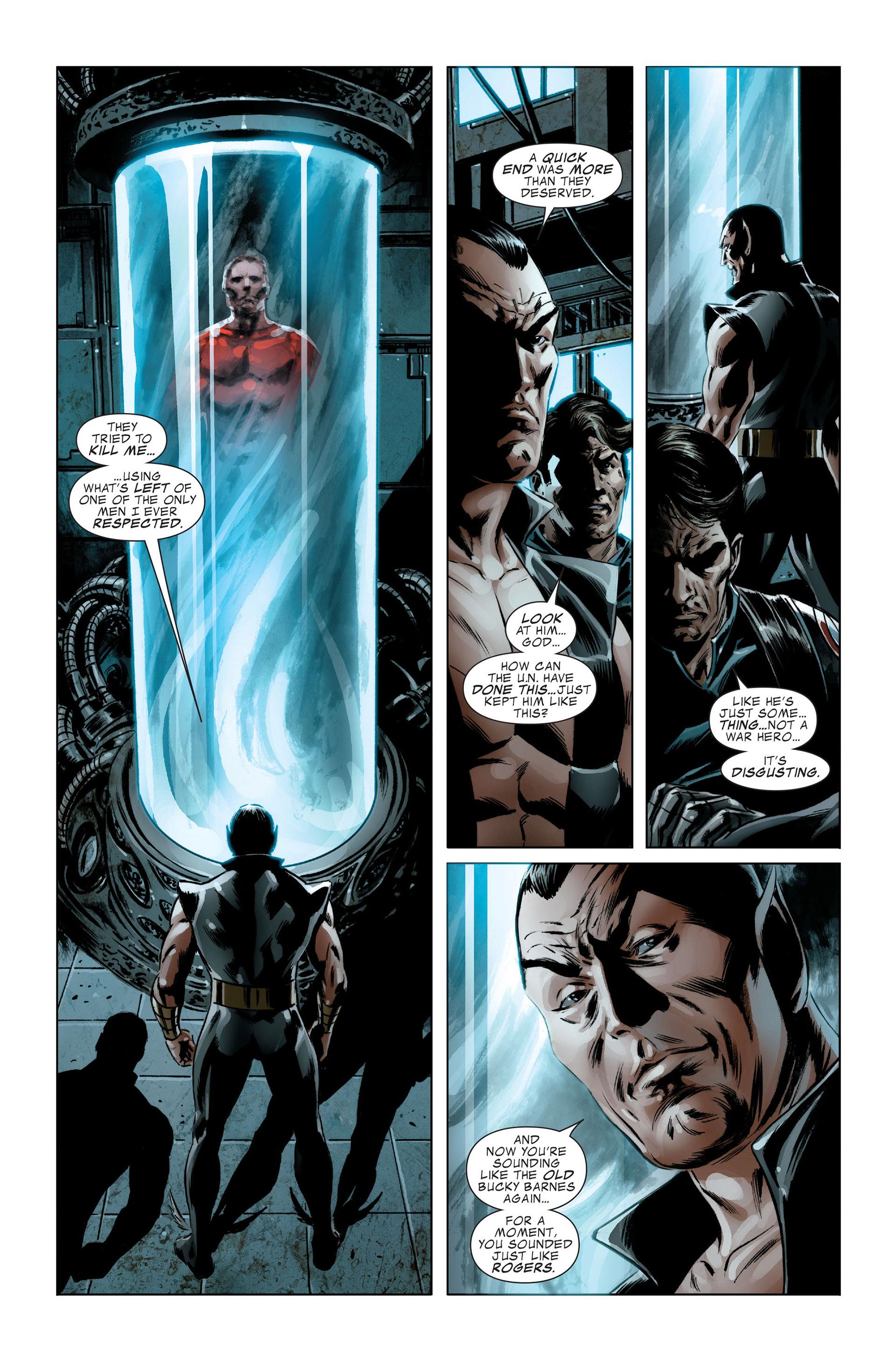 Read online Captain America (2005) comic -  Issue #48 - 20