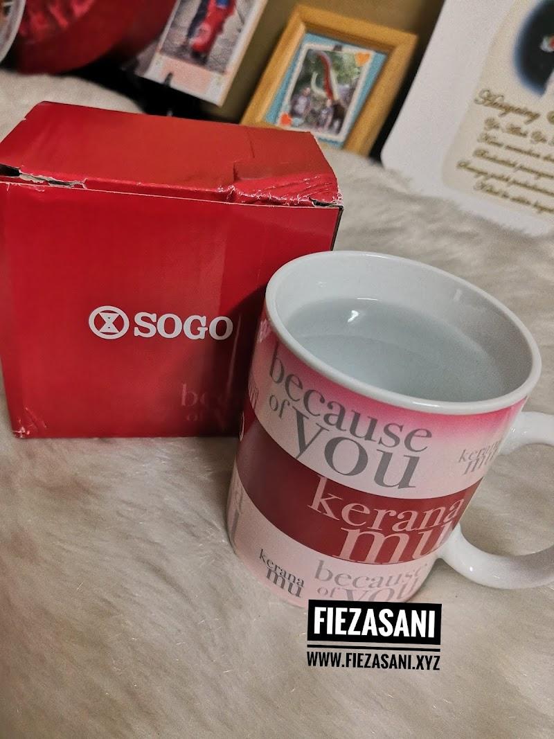 Redeem Birthday Gift Di SOGO