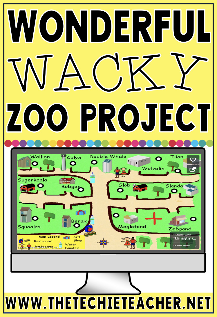 Students will have a blast exploring animal needs and habitats with this project that utilizes Pixie and Thinglink. Makes a great Project Based Learning Project!