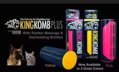 King Komb Revolutionary 3 Blade Brush Vacuums And Floor