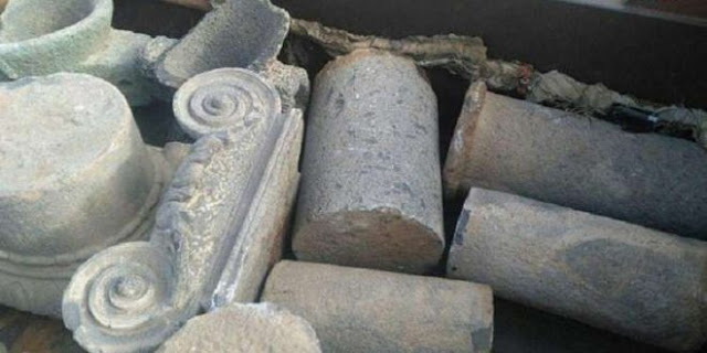 Syrian authorities recover 103 artefacts stolen from Daraa