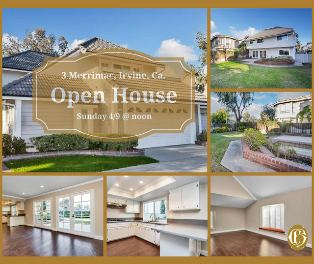Open House Sunday April 9th, 3 Merrimac, hosted by Realtor Cindy Hansonn