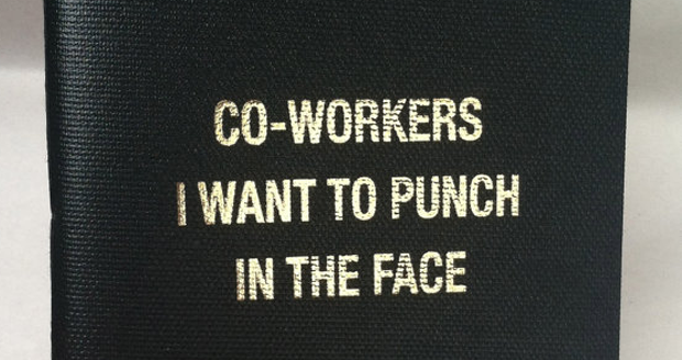 Co-Workers I Want To Punch Notebook