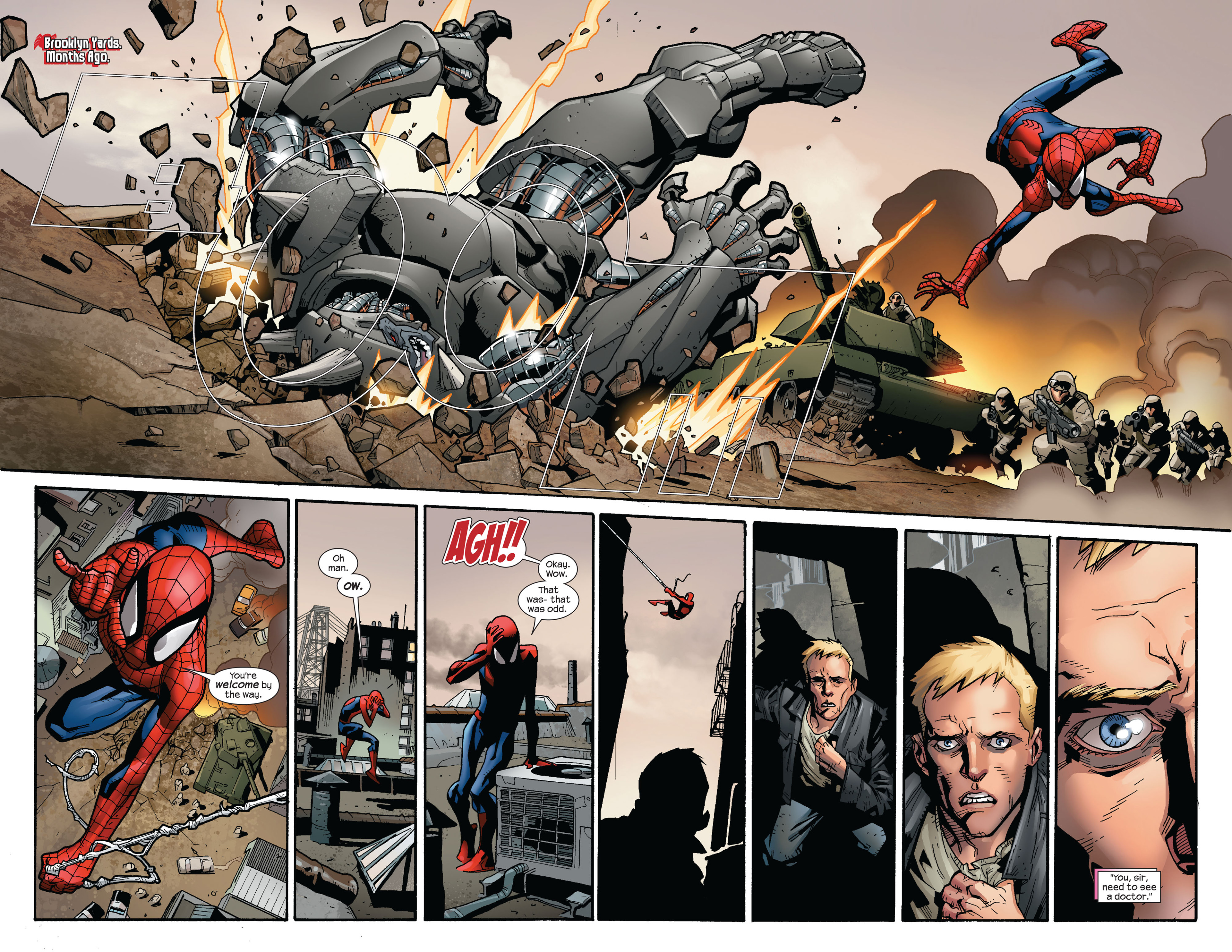 Read online Ultimate Spider-Man (2000) comic -  Issue #124 - 4