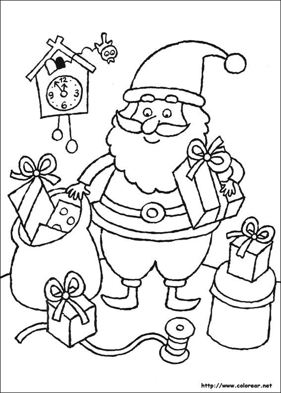 mima lo que quieres dibujos de navidad para colorear. Black Bedroom Furniture Sets. Home Design Ideas